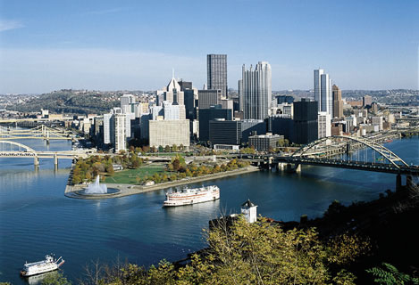 downtown Pittsburgh!